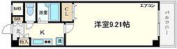 桜川ゼンシンBLD[8階]の間取り