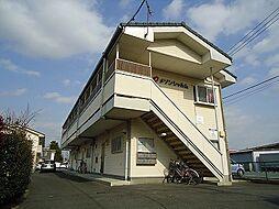 群馬県前橋市北代田町の賃貸アパートの外観