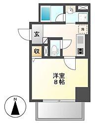 笹島アイサンメゾン[9階]の間取り