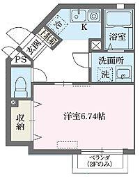 Prunus宮崎台[0101号室]の間取り