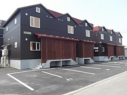 [タウンハウス] 北海道札幌市東区東雁来十条2丁目 の賃貸【/】の外観