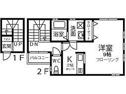 [一戸建] 埼玉県川口市中青木4丁目 の賃貸【/】の間取り