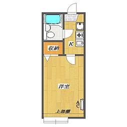 Sunny Court 〜Kitakasai〜[B206号室]の間取り