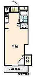 アドバンス2[206号室]の間取り