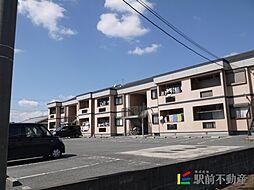 福岡県筑後市大字蔵数の賃貸アパートの外観