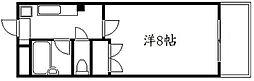 コモドエスペシオ勝山[4階]の間取り