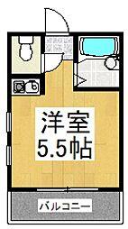 ファインビレッジ朝志ヶ丘[3階]の間取り