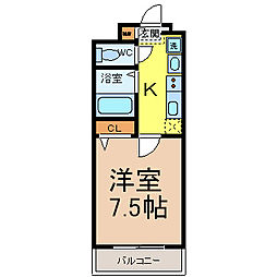 BASIC2000(ベーシック2000)[1階]の間取り