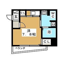 ARTIS仙台花京院[10階]の間取り