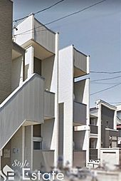愛知県名古屋市熱田区河田町の賃貸アパートの外観