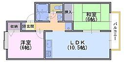 エンドレス[2階]の間取り