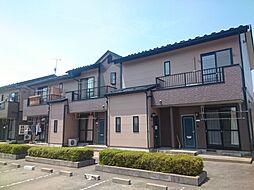 岩手県滝沢市大崎の賃貸アパートの外観