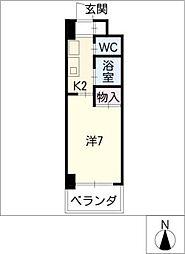 アピテ相川[4階]の間取り