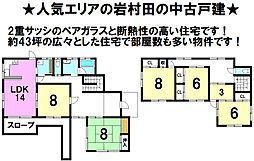 岩村田駅 1,680万円