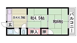 山陽電鉄本線 西新町駅 徒歩33分の賃貸アパート