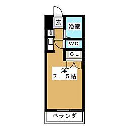 新栄ロイヤルビル[3階]の間取り