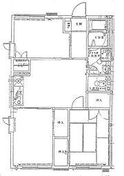 サニーセゾン東永谷E[202号室]の間取り