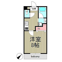 Maison Grandiose[2階]の間取り