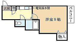 第61長栄エクセレントハイム[3階]の間取り