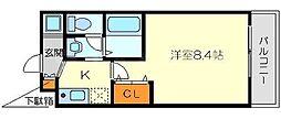 M'PLAZA新大阪駅前[4階]の間取り