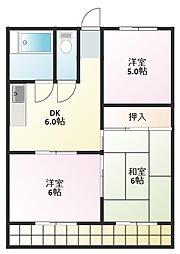 第2柴田ビル[5階]の間取り
