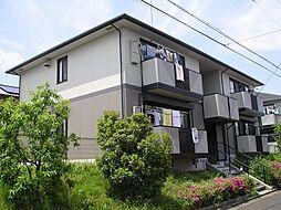 奈良県生駒郡三郷町立野北1丁目の賃貸アパートの外観