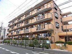 神奈川県横浜市港北区綱島西5の賃貸マンションの外観