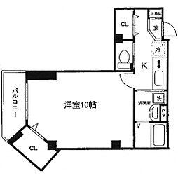 ステージオダワラヤ[301号室号室]の間取り