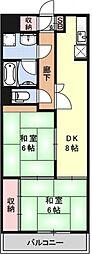 サンハイム桂[108号室号室]の間取り
