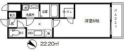 エスリード大阪城[10階]の間取り
