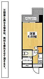 ビブレ西小倉B[9階]の間取り