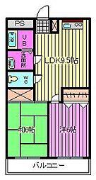 ビュープラザ斎藤I[302号室]の間取り