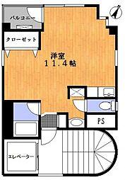 一之江マンション[4階]の間取り