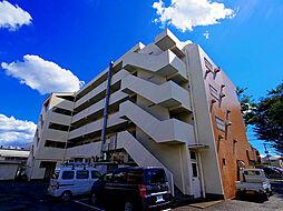 東京都東久留米市前沢4丁目の賃貸マンションの外観