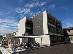 兵庫県姫路市北条梅原の賃貸マンションの外観