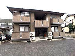 栃木県宇都宮市戸祭2丁目の賃貸アパートの外観
