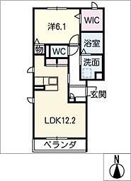 コンチェルト II[3階]の間取り
