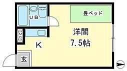 兵庫県姫路市西今宿3丁目の賃貸マンションの間取り