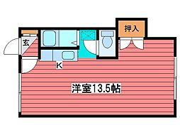 コート西岡[3階]の間取り