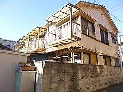 東京都板橋区上板橋3丁目の賃貸アパートの外観