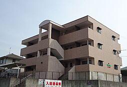 福岡県宗像市日の里7丁目の賃貸マンションの外観