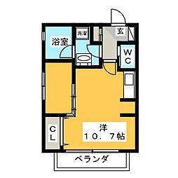 Mina八事石坂[2階]の間取り