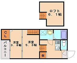M−REX[2階]の間取り