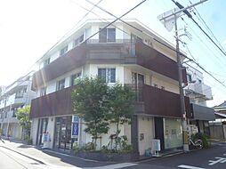 大阪府大阪市東住吉区南田辺3丁目の賃貸マンションの外観