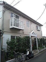 東京都杉並区下高井戸4丁目の賃貸アパートの外観
