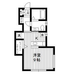 東京都板橋区大谷口北町の賃貸アパートの間取り