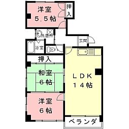 Maison de Montagne[6階]の間取り