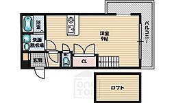 カルム香川5[2階]の間取り