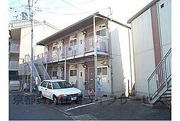 京都府京都市東山区松原通大和大路東入3丁目下る小島町の賃貸アパートの外観