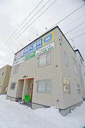 メゾネット稲積駅前[1階]の外観